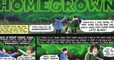 Homegrown: ενημερωτικό κόμικ για την κάνναβη