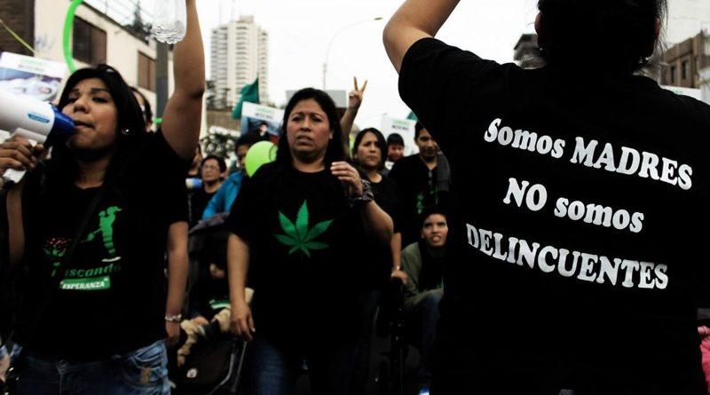 Περού: διαδήλωση για την φαρμακευτική κάνναβη