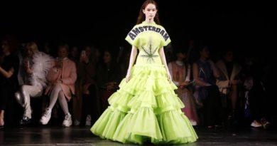 Φόρεμα Viktor & Rolf με φύλλο κάνναβης